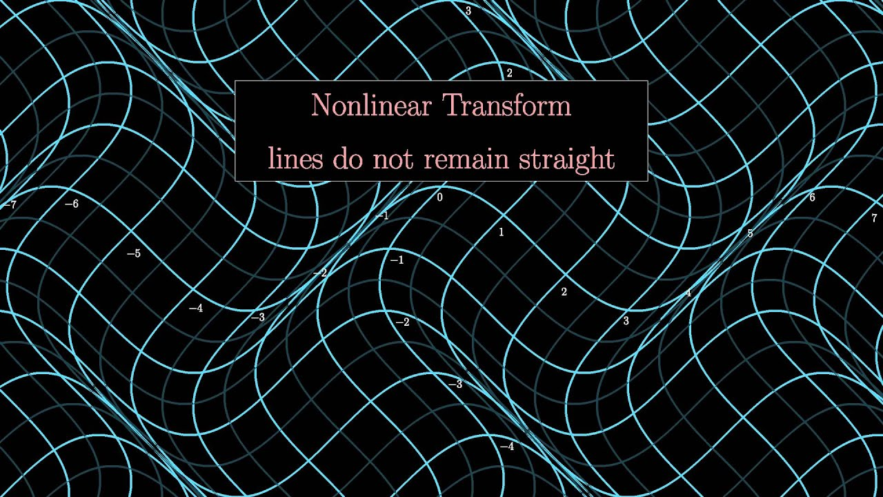 non linear transformation